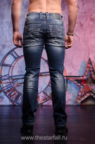 джинсы PALFREY J201 STRAIGHT CUT JEAN Rock Revival