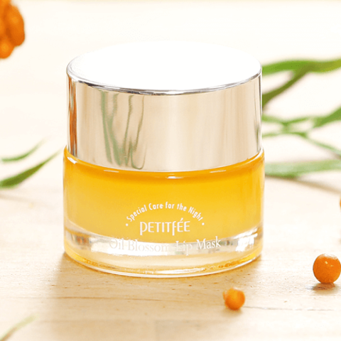 Купить Petitfee Oil Blossom Lip Mask Sea Buckthorn Oil