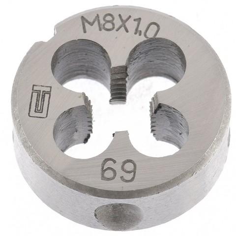 Плашка М8 х 1 мм Сибртех
