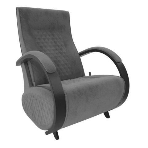 Кресло-глайдер Balance Balance-3 с накладками, венге/Verona Antrazite Grey, 014.003