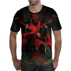 Футболка 3D принт, Дэдпул, Марвел (3Д Deadpool, Marvel) 04