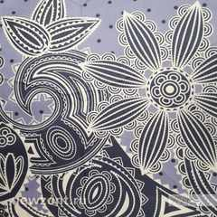 Стильный женский мини зонтик ArtRain темно-серый с узорами