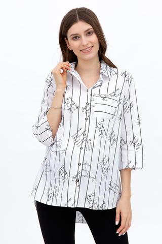 Рубашка для беременных 10591 белый