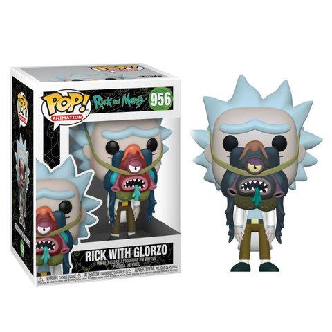 Фигурка Funko POP! Animation Rick & Morty Rick w/ Glorzo 55250