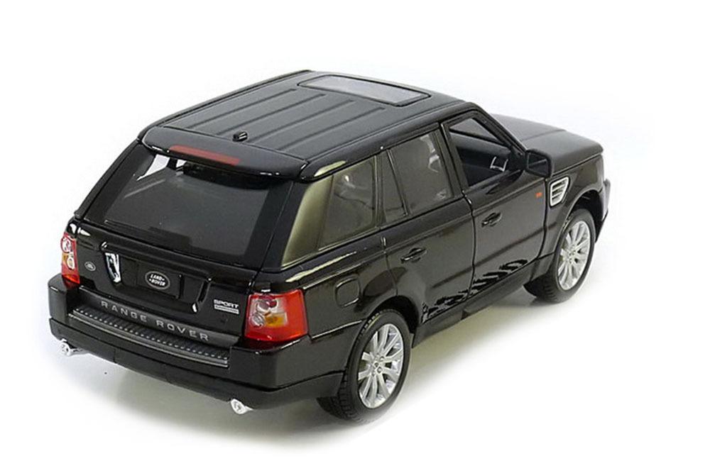 Коллекционная модель RANGE ROVER SPORT 2007 BLACK