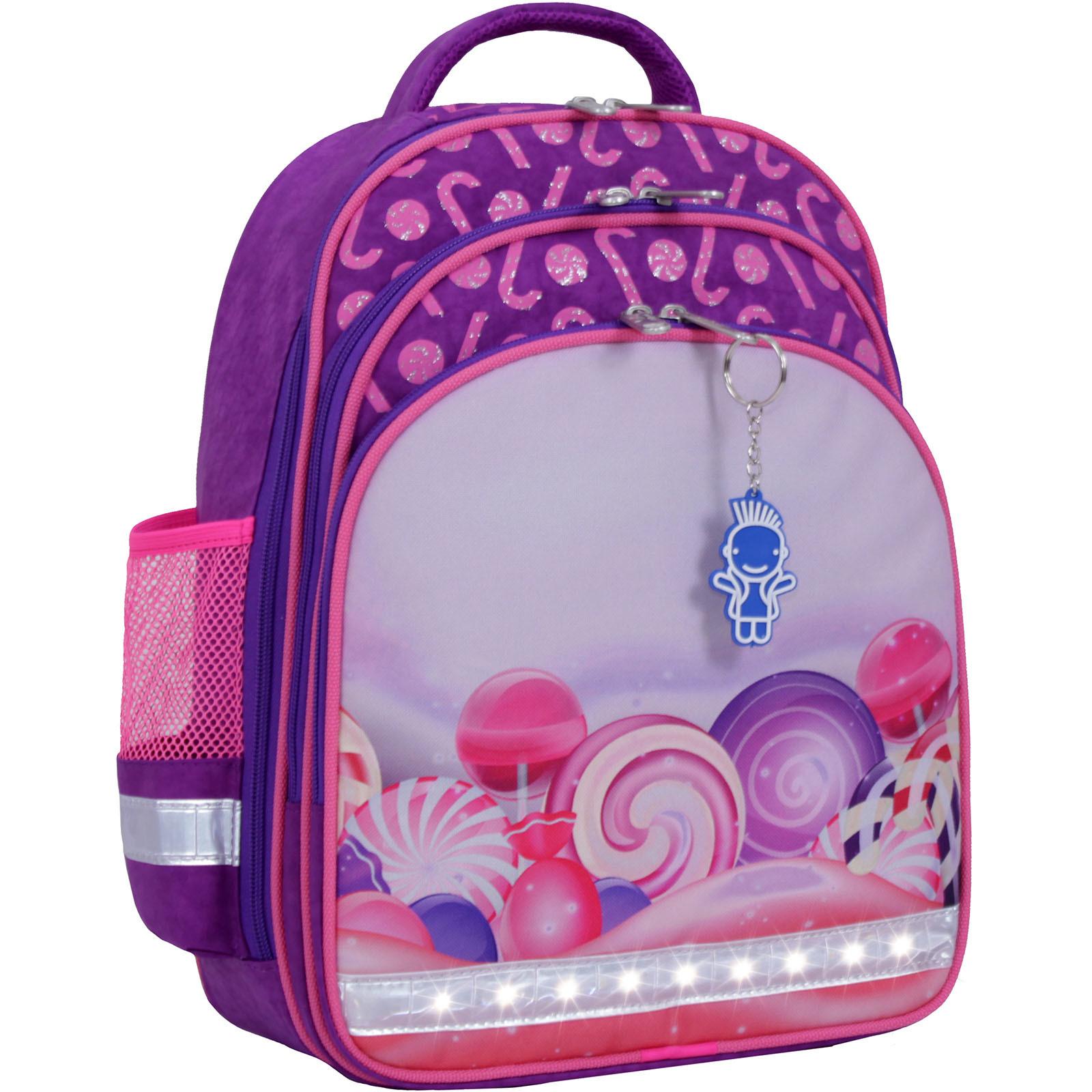 Рюкзак школьный Bagland Mouse 339 фиолетовый 409 (0051370) фото 1