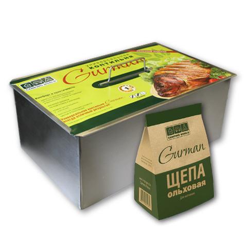 Купить универсальную коптильню Gurman (размер L) от производителя, недорого и с доставкой.