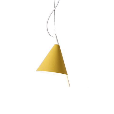 Подвесной светильник копия Cone by Almerich D22 (желтый)