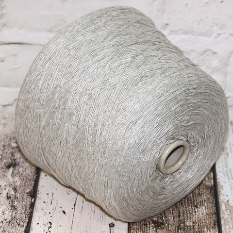 Хлопок 100%  CASA DEL FILATO / TORRES  275 светло-серый