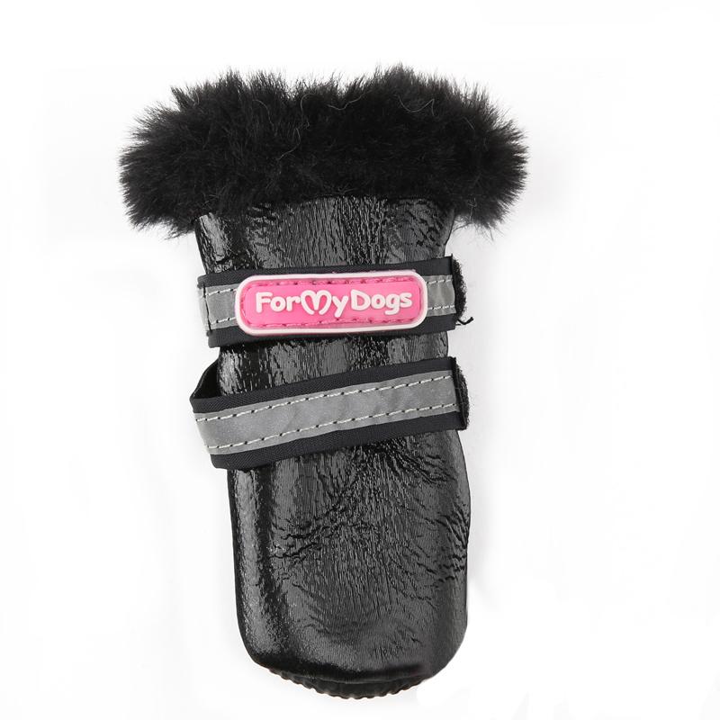 664-2020 - Сапожки для собак на меху
