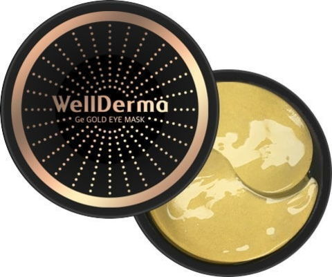 Гидрогелевые патчи (маски) для глаз ЗОЛОТО Ge Gold Eye Mask, 60 шт WELLDERMA