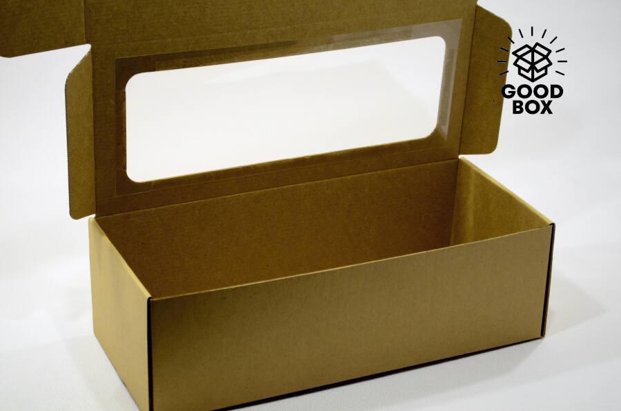 Коробка с окошком для куклы купить в Алматы