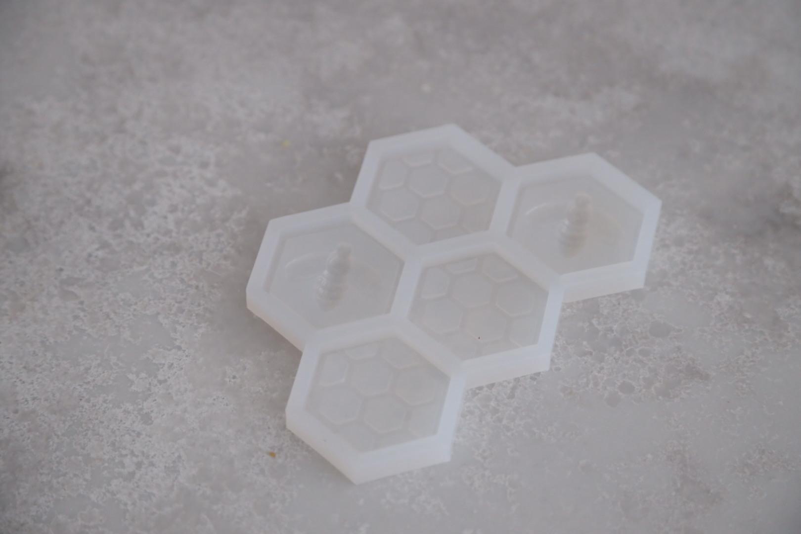 Силиконовая форма «Соты», 13х8 см