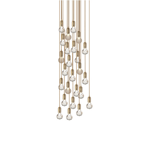 Подвесной светильник Crystal Bulb by Lee Broom (10 подвесов)
