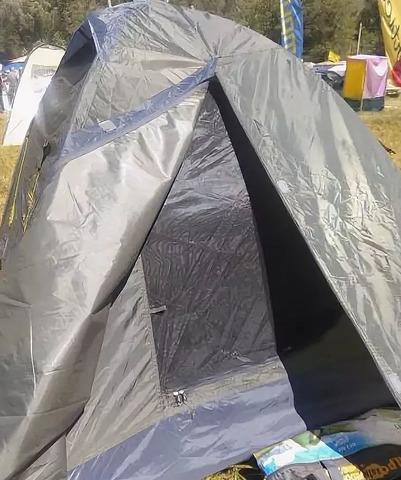 Палатка Canadian Camper JET 3 Al, цвет forest