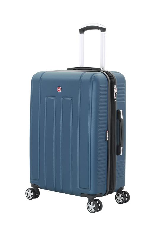 Чемодан средний WENGER VAUD цвет синий, 67x46x28 см, 66 л (WGR6399343167)   Wenger-Victorinox.Ru