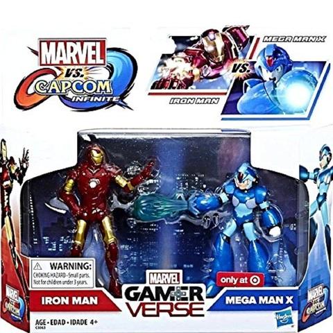 Набор Железный человек и Мега Мен Х 10 см