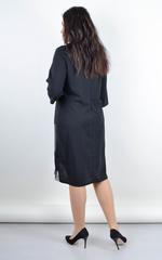 Софі. Ошатне плаття плюс сайз. Чорний.