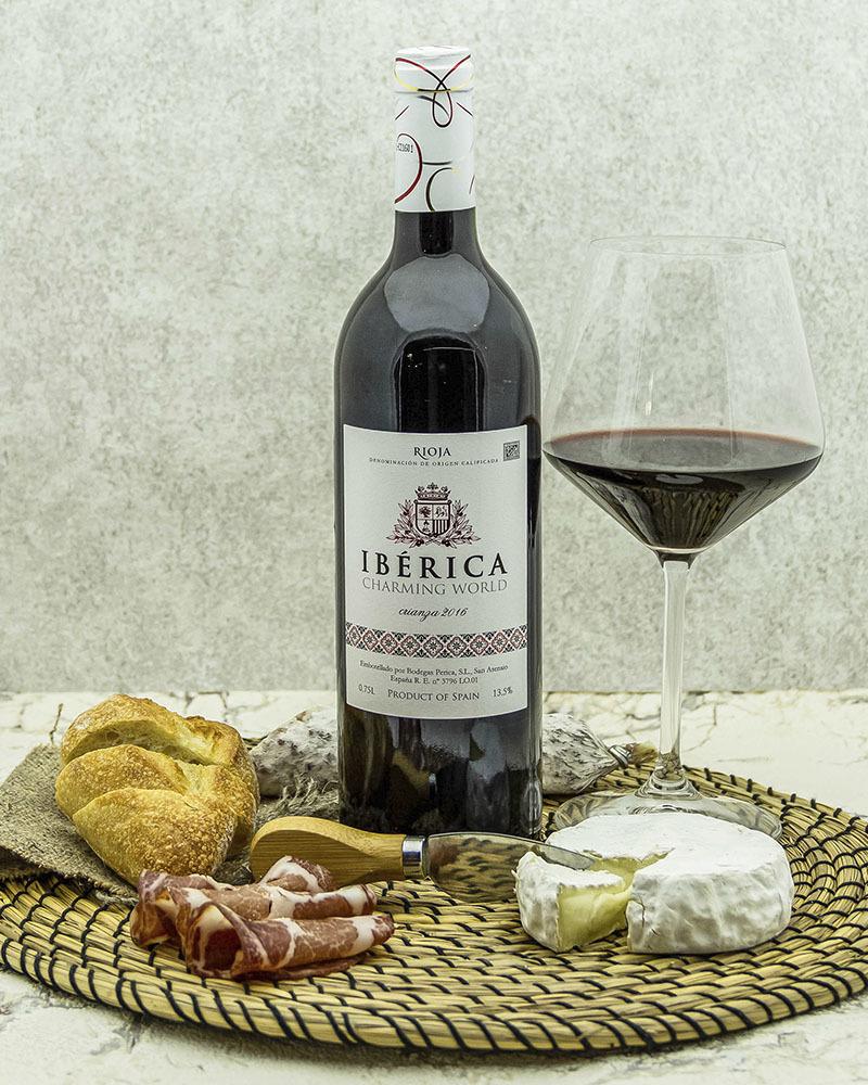 Вино Iberica Чарминг Ворлд Крианса Красное Сухое 2016 г.у. 13,5% 0,75 л.