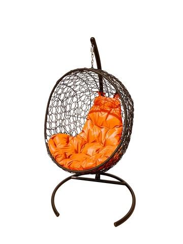 Кресло подвесное Porto brown/orange