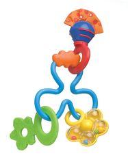 Playgro. Погремушка с прорезывателем Твирли-вирли, 3м+