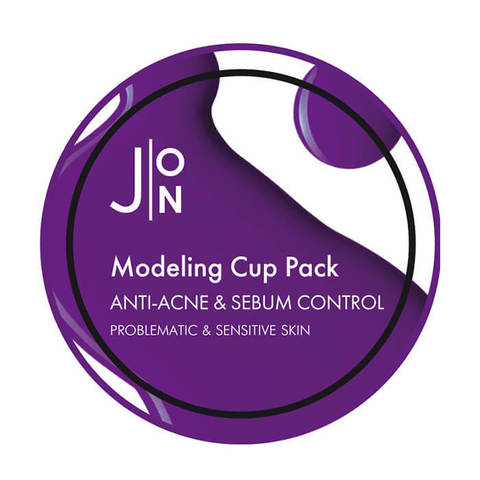 Альгинатная маска АНТИ-АКНЕ И СЕБУМ КОНТРОЛЬ J:ON Anti-Acne & Sebum Control Modeling Pack