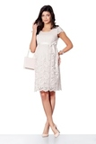 Платье для беременных 03718 пудра