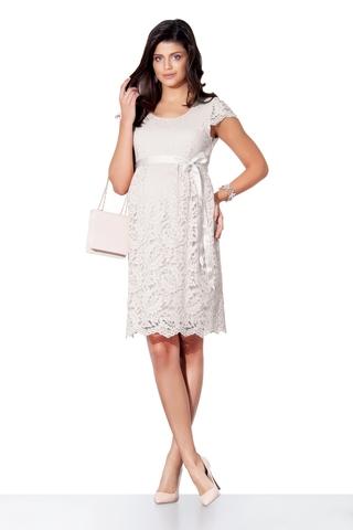 Платье для беременных 03718 белый