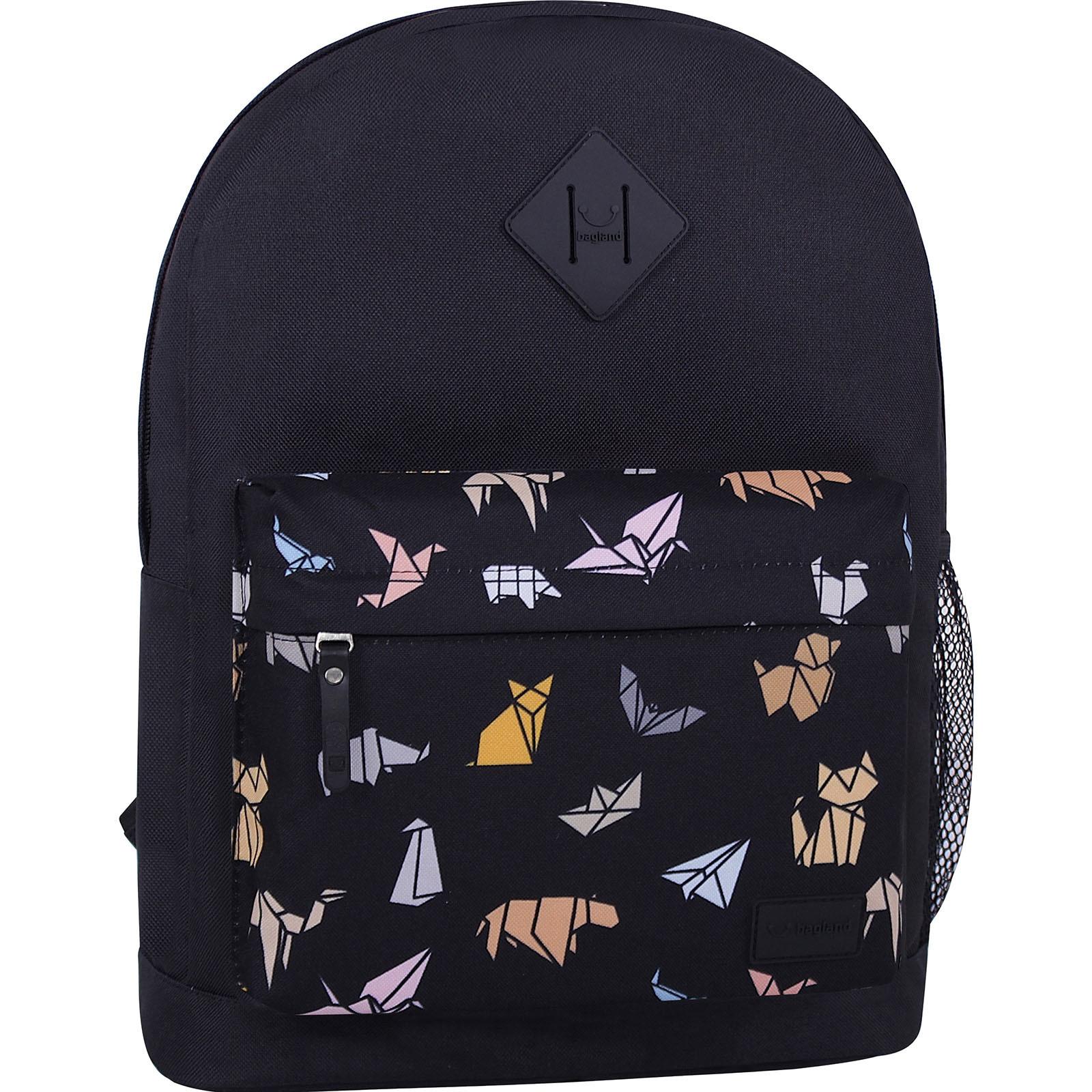 Молодежные рюкзаки Рюкзак Bagland Молодежный W/R 17 л. Чёрный 752 (00533662) IMG_7300_суб.752_.JPG