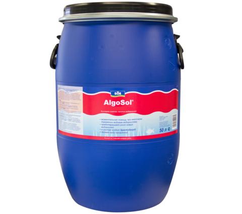 Препарат для борьбы с водорослями в пруду Soll AlgoSol 50L