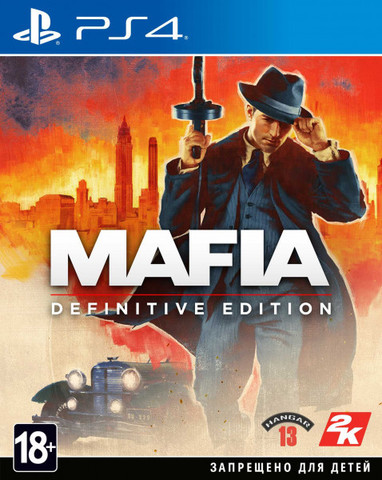 Mafia: Definitive Edition (PS4, русская версия)