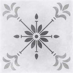 CERSANIT Motley 298x298 пэчворк цветы серый микс