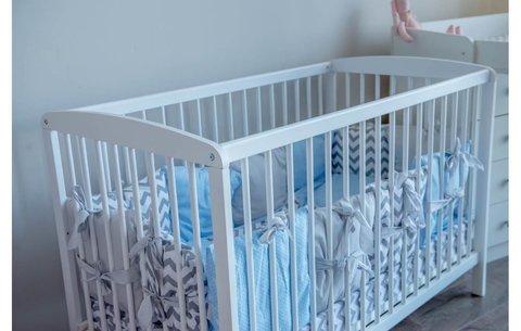 Кроватка детская Polini kids Simple 101, белый