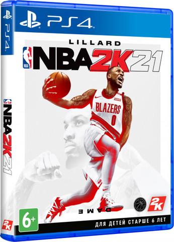 NBA 2K21 (PS4, английская версия)