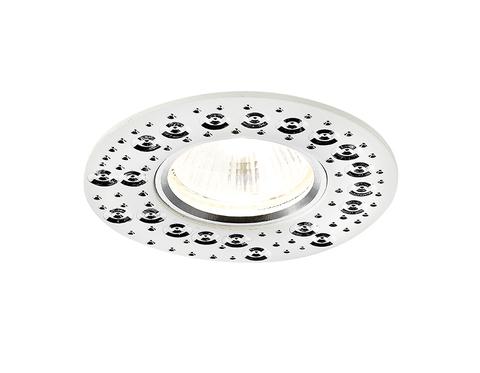 Встраиваемый потолочный точечный светильник A801 W белый MR16