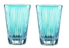 Набор из 2-х стаканов Nachtmann Sixties Lines Aqua, 360 мл, фото 2
