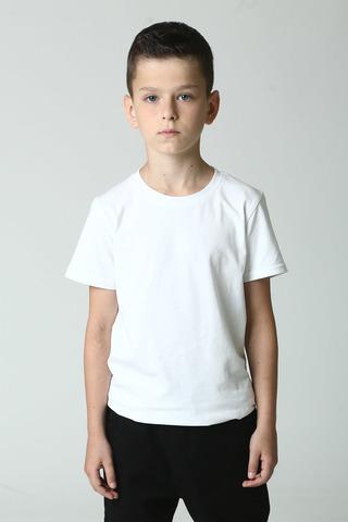 Футболка для мальчика, однотонная Buci Турция, 3936 (140-164)