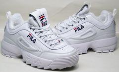 Модные зимние кроссовки женские Fila Disruptor II