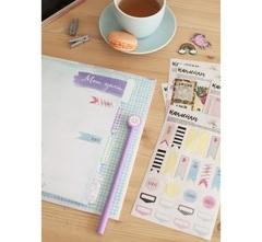 Наклейки для ежедневника «Мой план», 11 × 16 см