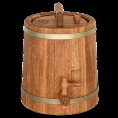 Дубовая бочка конусная для алкоголя, 3 литра, фото 7