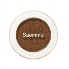 Тени для век мерцающие The Saem Saemmul Single Shadow Shimmer BR14 TMI Brown коричневый тон 2 гр