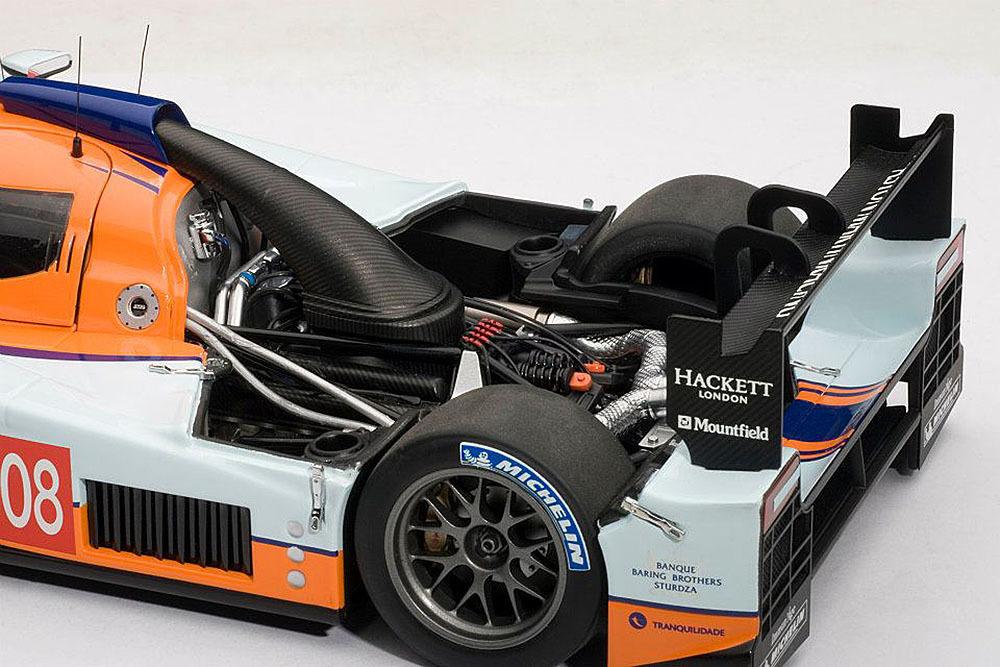 Коллекционная модель Aston Martin Lola LMP 1 2009 №008 Le Mans