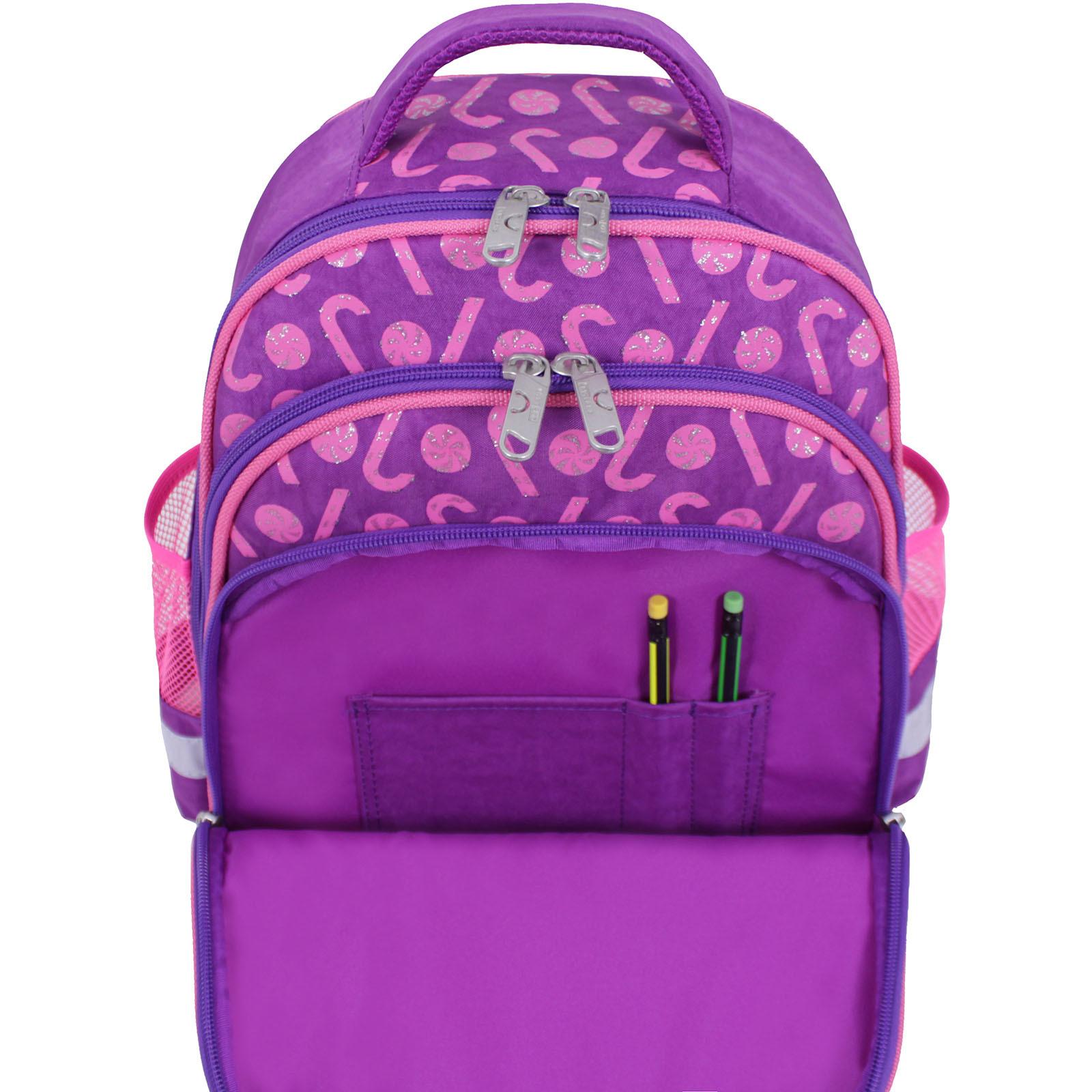 Рюкзак школьный Bagland Mouse 339 фиолетовый 409 (0051370) фото 5