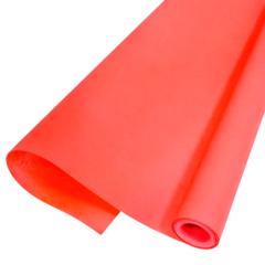 Упаковочная бумага Пергамент Ярко-красный, 0,5 х 10 м, (Россия), 1 шт.