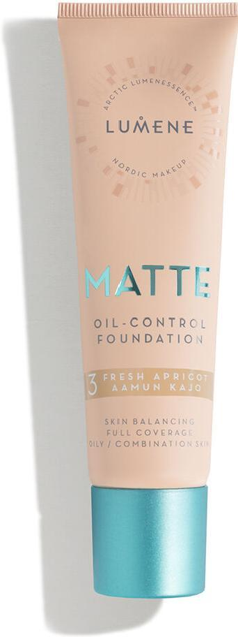 Тональный крем для лица Lumene Matte 3 Fresh Apricot 30 мл