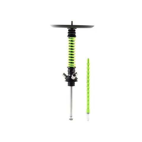 Mamay Customs Coilovers Mini Black-Green Varnish Hookah
