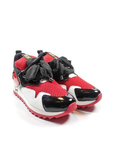 красные кроссовки Mario Muzi