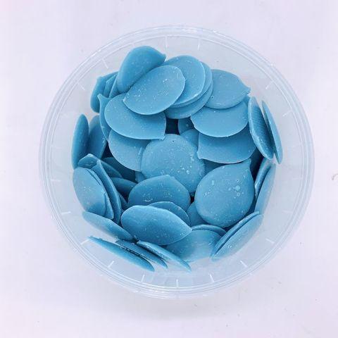 Глазурь кондитерская голубая 32%  1 кг