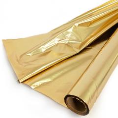 Полисилк Металл, Желтое золото (золото + золото), 100 см* 20 м.