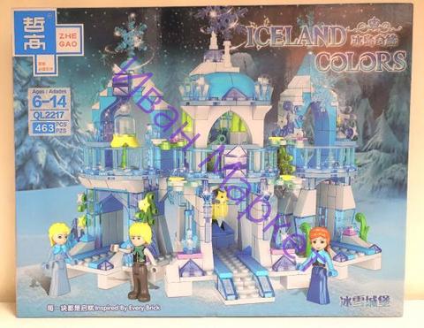 Холодное сердце 2217 Волшебный ледяной замок 463 дет Конструктор